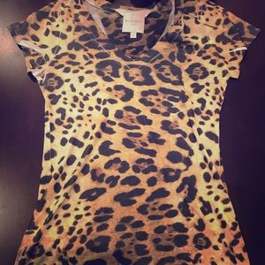 Romeo and Juliet Couture Leopard Print Dress